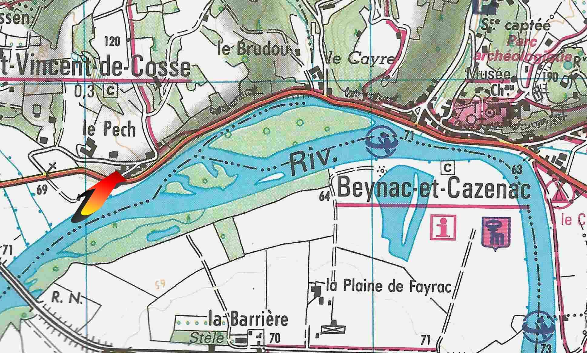 Fermette - exact Location