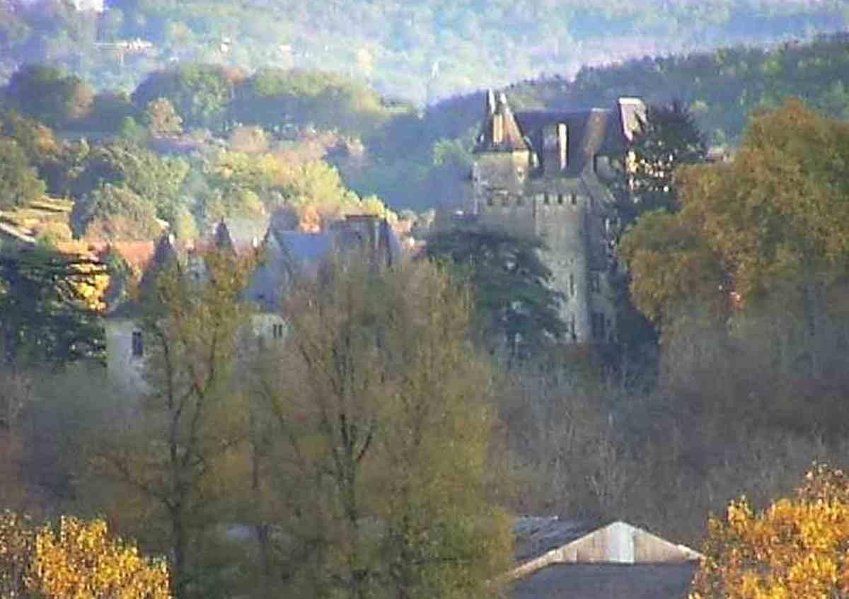 Webcam long shot - Chateau Fairac